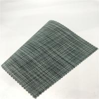 Buy cheap Flame Retardant  PVC woven vinyl   mesh fabric/pvc dipped mesh fabric as sofa material from wholesalers