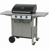 Buy cheap BBQ Gas Burner with 8.1kW Heat Rating, 55 x 40cm Cooking Area and Built-in Piezo Igniter from wholesalers