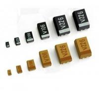 Buy cheap SMT Chip 1500uf Electrolytic Capacitor , Low Profile Pcb Mount Electrolytic Capacitor from wholesalers