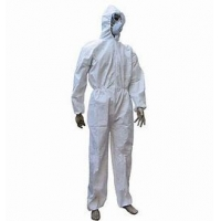 Buy cheap Industrial Breathable PP PE SMMS Disposable Protective Suit product