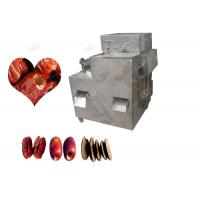 Stainless Steel Semi Auto Dates Fruit Pitting Machine With Pitting Speed 95-98 %