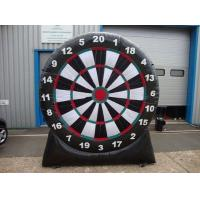 Buy cheap Air Blower Inflatable Sports Games Outdoor Inflatable Foot Dart Board Stands from wholesalers