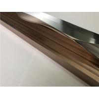 Buy cheap Shining Polishing Finish Aluminium Extrusion Profiles / Aluminum Profile For Kitchen Cabinet product