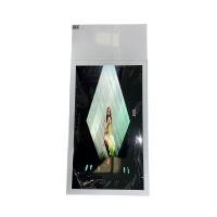 Buy cheap Shockproof 43 Hanging LCD Window Display 0.8mm Bezel from wholesalers