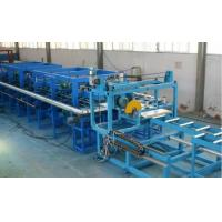 Buy cheap Aluminium Steel Composite Rockwool Sandwich Panel Machine 58 M X 4 M With PLC Controlling from wholesalers