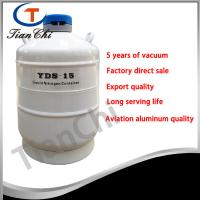 Buy cheap 15L Liquid nitrogen storage container manufacturer 5 years of vacuum from wholesalers
