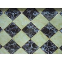 Buy cheap Anti UV Interlocking Decorative PVC Wall Panels Artificial Stone Marble from wholesalers