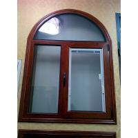 Buy cheap Woodern Grain Painted Alu Casement Windows Tilt And Turn Louver Window Design from wholesalers