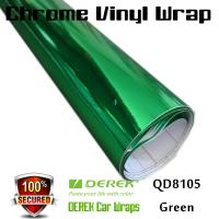 Buy cheap Chrome Mirror Car Wrapping Vinyl Film 3 layers - Chrome Green from wholesalers