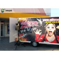 Buy cheap Luxury Motion Chair Truck Mobile 5D Cinema With Snow / Bubble / Windy Simulation product