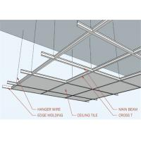 Buy cheap Spray Painted Replacement Suspended Ceiling Tiles Lightweight ACT-02 from wholesalers