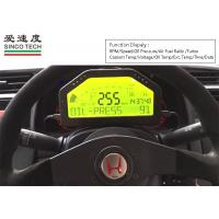 Buy cheap 12v Turbo Boost Gauge Universal Combination -1 To 3 Bar DO904II Black Shell Color from wholesalers