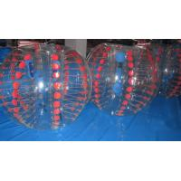 Buy cheap Durable Football Equipment Body Zorbing Ball / Bubble Soccer Ball from wholesalers