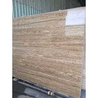 Buy cheap Iran Yellow Roman Beige Travertine 2cm And 3 Cm Travertine Slabs And Tiles With Mesh On Back from wholesalers