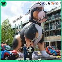 Buy cheap High Quality Custom Made Advertising Inflatables , Lovely Puppy Inflatable Dog from wholesalers