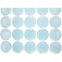 """Buy cheap 1"""" Blue Glow In The Dark Epoxy Adhesive Stickers from wholesalers"""