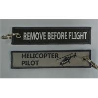 Buy cheap Helicopter Pilot Remove Before Flight Key Chains Wholesale Retail and Customize 13 x 2.8cm 100pcs lot from wholesalers
