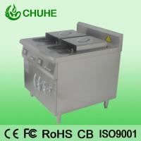 Buy cheap Counter restaruant 2 tank 4 basket deep fryer with 8kw from wholesalers