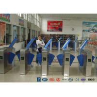 Buy cheap Heavy Duty Industrial Speed Flap Barrier Turnstile For Handicap Channel from wholesalers