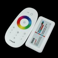 Buy cheap 2.4G RF Wireless full touching screen LED RGB Remote Controller 12V/24V WiFi Compatible with wifi router from wholesalers