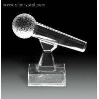 Buy cheap crystal trophy award souvenirs for golf player diamond brazil world cup trophy pulicrystal-209 from wholesalers
