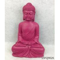 Buy cheap Resin buddha/ color buddha statue/polyresin statue of buddha/rose red/ganesh buddh from wholesalers