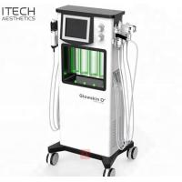 Buy cheap 6 In 1 RF Ultrasound Super Oxygen Facial Machine For Mild Exfoliation Skin Tightening product
