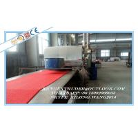 Buy cheap Plastic PVC Single Color Coil Floor Mat , Door Mat Extruder Machine from wholesalers