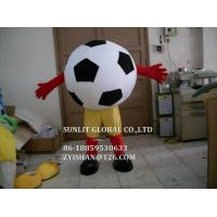 Buy cheap big football  mascot costume/customized fur product replicated mascot costume from wholesalers