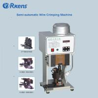 Buy cheap Semi-automatic Mute Wire Crimping Machine from wholesalers