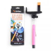 Buy cheap OEM Monopod Selfie Stick with 3.5mm Audio , Cable Take Pole Selfie Stick from wholesalers