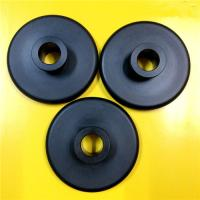 Buy cheap Black Nylon 66 Plastic Machined Parts CNC Turning Simple Design Lightweight from wholesalers