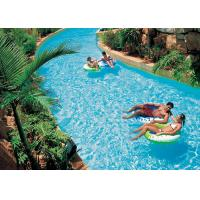 Buy cheap Anti - Static Lazy River Water Park , Adventure Water Park Waves Swimming Pool from wholesalers