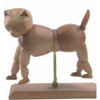 Buy cheap Vivid Craft Artist Wooden Manikin Dog / Cat Mannequin Good Design from wholesalers