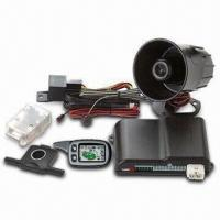 Buy cheap LCD Remote Car Alarm and Starter with Auto Rearm and Buttons Lock Function from wholesalers