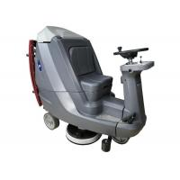 Buy cheap Wet And Dry Ride On Floor Scrubbers / Delicate Gym Floor Cleaning Machines from wholesalers