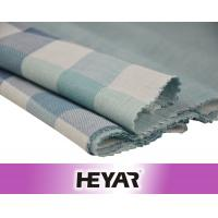 Buy cheap Face Side Checks Reverse Side Solid Double Layer 100 Cotton Check Fabric from wholesalers