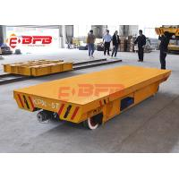 Buy cheap 10tons Flexible Heavy Duty Quad Steer Carts , Free Maintenance Material Handling Trolley from wholesalers