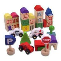 Buy cheap Wooden Block Sets, Wooden Educational Toys from wholesalers