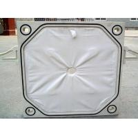 Buy cheap PP / PE Materials Filter Press Plates 600G/M2 650G/M2 Weight Good Air Permeability from wholesalers