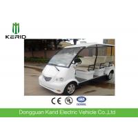 Buy cheap 4kW DC Motor Electric Shuttle Bus With Superior Cushioning Capacity for 8 Person from wholesalers