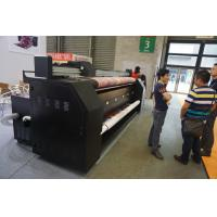 Buy cheap Pigment / Reactive Ink Fabric Flag Printing Machine For Roll Up Banners from wholesalers