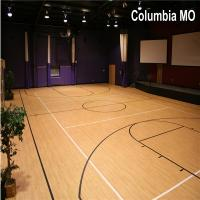 Buy cheap PVC Material Sports Flooring Vinyl Flooring for basketball from wholesalers