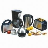 Buy cheap Breakfast set, includes coffee machine, kettle, toaster, sandwich maker and egg boiler, 1 box pack from wholesalers