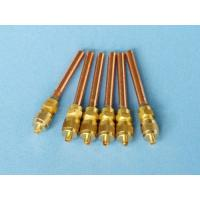 Buy cheap Refrigeration Spare Parts Copper Charging Valve from wholesalers