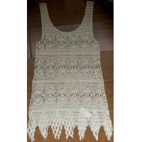 Buy cheap Free sample soft high quality ladies summer crochet vest (No.HF-2635#) from wholesalers