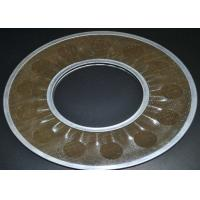 Buy cheap Brass Wire Mesh Filter Disc Supporting For Filtering , 20-200 Micron from wholesalers