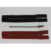 Buy cheap H65 Metal Brass Nomex Aramid Fire Retardant Zippers Heat Resistance For Uniforms from wholesalers