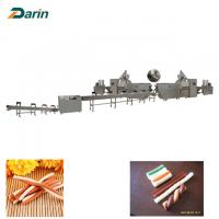 Buy cheap Dog Dental Care Chewing Pet Food Production Line Single Extruder Stainless Steel from wholesalers