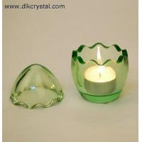 Buy cheap crystal candle holder Glass candle holders ,crystal candle stick votive candle holders craft pulicrystal-334 from wholesalers